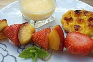 Σουβλάκια με... φρούτα!