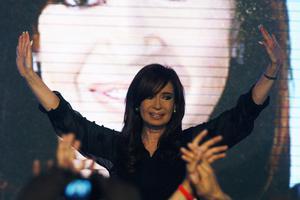 Προβάδισμα για την πρόεδρο της Αργεντινής
