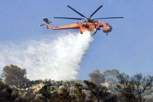 Φωτιά σε δύσβατη περιοχή της Αχαΐας