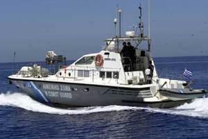 Προσάραξη πλοίου στην Αγ. Μαρίνα στην Κρήτη
