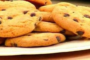 Μπισκότα σοκολάτας με βούτυρο