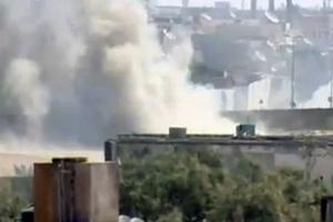 Εκρήξεις στο προπύργιο του Καντάφι