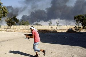 Έκρηξη σε αποθήκη πυρομαχικών στην Τρίπολη