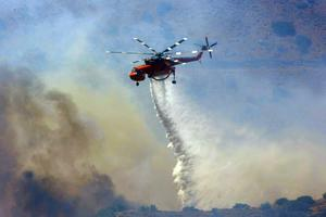 Υψηλός κίνδυνος πυρκαγιάς για το Σάββατο στην Κρήτη