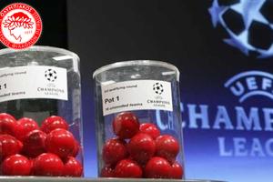 Το απόγευμα η κλήρωση των ομίλων του Champions League