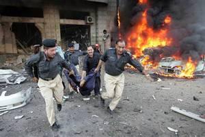 Μακελειό σε κηδεία στο Πακιστάν