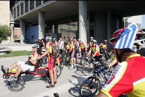Από τη Θεσσαλονίκη στη Στουτγκάρδη με ποδήλατο