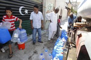 Χωρίς νερό το 70% των νοικοκυριών στην Τρίπολη