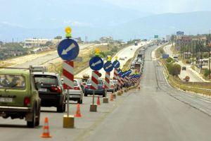 Κλειστή η εθνική Αθηνών Θεσσαλονίκης στο ύψος της Κατερίνης
