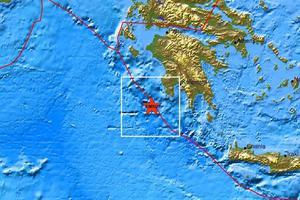 Σεισμός 3,8 Ρίχτερ στη Μεθώνη