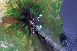 Πώς φαίνονται τα ηφαίστεια από το Διάστημα