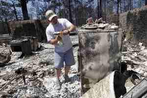 Συνεχίζουν το καταστροφικό έργο τους οι φωτιές