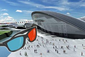 Η πρώτη 3D μετάδοση των Ολυμπιακών Αγώνων
