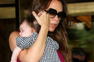 Από μικρή στα... fashion show η κόρη της Beckham