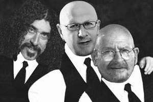 Παπαδόπουλος, Πουλικάκος και Γιοκαρίνης μαζί στη σκηνή