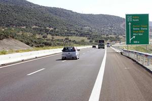 Συνεχίζονται οι διακοπές κυκλοφορίας στην Εγνατία