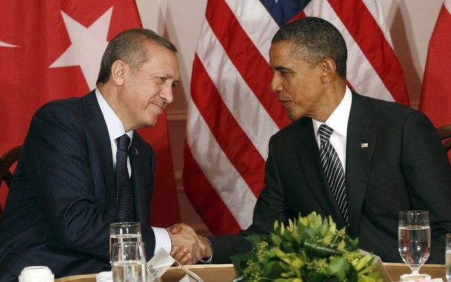 Για ενίσχυση της συνεργασίας κατά του ISIS δεσμεύθηκαν Ομπάμα και Ερντογάν