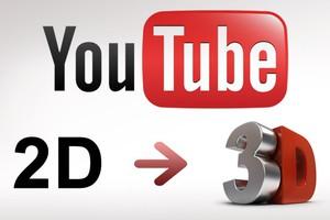 Δυνατότητα μετατροπής 2D βίντεο σε 3D μέσα στο YouTube