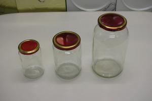 Αποστείρωση βάζων για μαρμελάδα