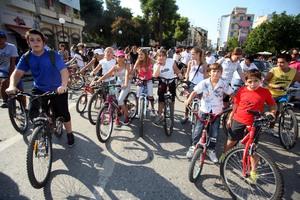 Βόλτα με ποδήλατο στο δήμο Θερμαϊκού
