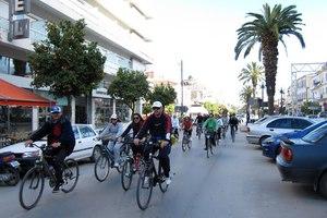 Ποδηλατάδα στους δήμους του Υμηττού