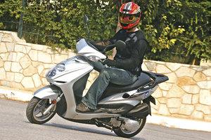 Με scooter στην πόλη