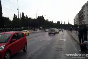 Ανοιχτοί όλοι οι δρόμοι στο κέντρο της Αθήνας