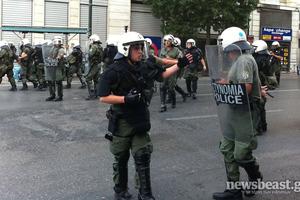 Προσαγωγές, συλλήψεις και τραυματισμοί στα επεισόδια