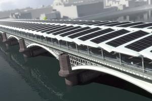 Η γέφυρα των... φωτοβολταϊκών