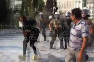 ΒΙΝΤΕΟ ΕΠΙΘΕΣΗ ΔΗΜΟΣΙΟΓΡΑΦΟΣ ΜΑΤ