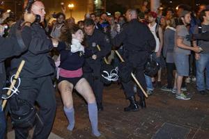Συγκρούσεις σε διαδήλωση στη Βοστόνη