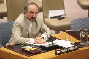 Οργισμένος ο Ιρανός πρεσβευτής στον ΟΗΕ