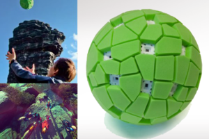 Μπάλα - κάμερα για πανοραμικές φωτογραφίες