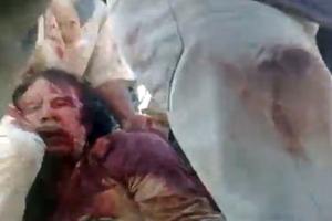 Το λυντσάρισμα του Μουαμάρ Καντάφι