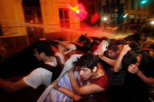 Άλλη μία νύχτα έντασης στο Σαντιάγο