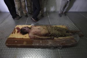 Παραμένουν απροσδιόριστα τα αίτια θανάτου του Μουάμαρ Καντάφι