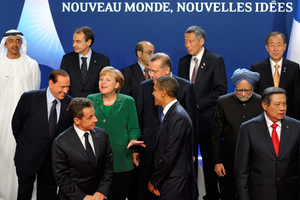 Καταχειροκροτήθηκε… ο Παπανδρέου στη G20