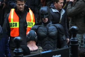 Στα εξωτερικά γυρίσματα του «Dark Knight Rises»