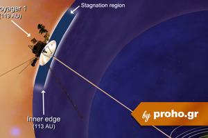 Στα όρια του ηλιακού μας συστήματος ο Voyager 1