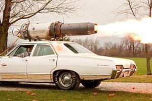 Αυτοκίνητο... πύραυλος!