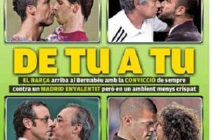 Τα φιλιά του el clasico!