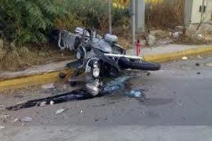 Νεκρός σε τροχαίο 65χρονος μοτοσικλετιστής