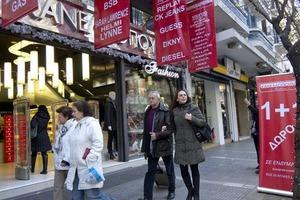 Αυξημένος ο τζίρος στη χριστουγεννιάτικη αγορά Θεσσαλονίκης