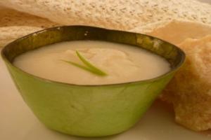 Σούπα παρμεζάνα με λαχανικά σοτέ