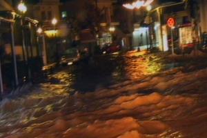 Πλημμύρισε η Λέσβος