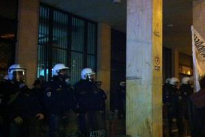 Ένταση στο κέντρο της Αθήνας