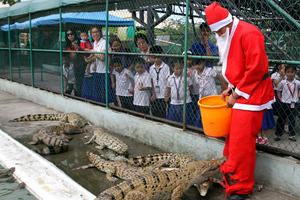 Ο Άγιος Βασίλης είναι... γενναίος!