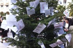 Στόλισαν δέντρο με χαράτσι ακινήτων