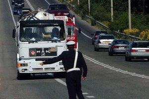Διακοπή κυκλοφορίας στην Εθνική Οδό Αθηνών-Λαμίας