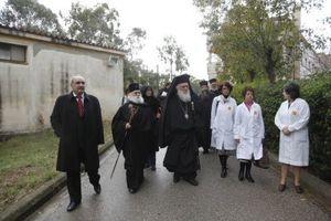 Στο ΚΑΑΠ Βούλας ο Αρχιεπίσκοπος Ιερώνυμος
